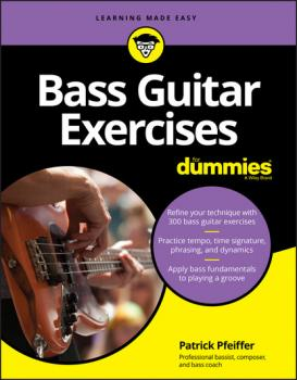 Скачать Bass Guitar Exercises For Dummies - Patrick  Pfeiffer
